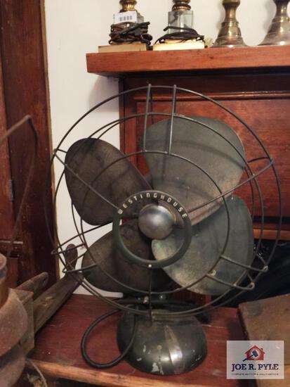 Large Westinghouse vintage fan