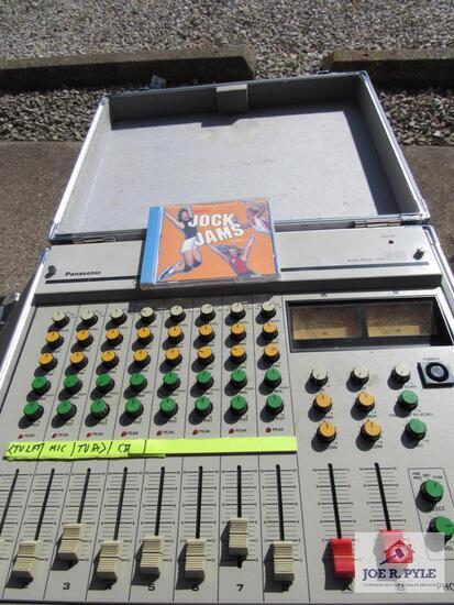 Case With Panasonic Audio Mixer Wr-500