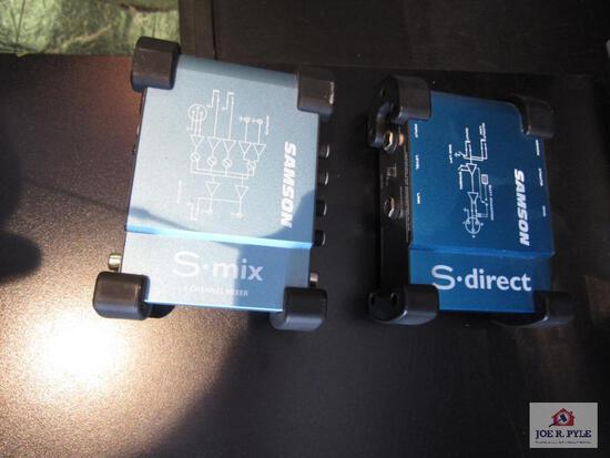 (2) Samson S Direct {No Cords}