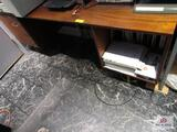 Wooden Desk Approx. 6Ft Long