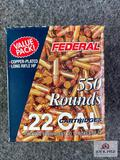 {158} Federal pack of 550-rds of .22 LR