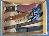 {128} Flat of (6) knives