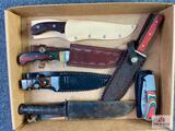{131} Flat of (6) knives