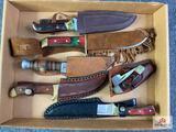 {132} Flat of (6) knives