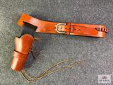 {146} American Sales & Mfg Co. western style single gun rig for .357 MAG (fits Ruger NM Blackhawk)