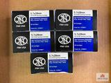 {173} Lot of FNH 5.7x28mm ammo (approx. 250 rds)