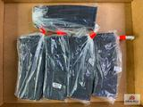 {208} Lot of five IMI G1 AR15/M16 30rd polymer magazines
