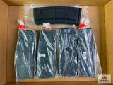 {213} Lot of five IMI G1 AR15/M16 30rd polymer magazines