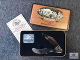 {124} 2000 Case CCC Lifetime Member Knife w/COA & Collector's Tin