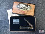 {122} 1997 Case CCC Lifetime Member Knife w/COA & Collector's Tin