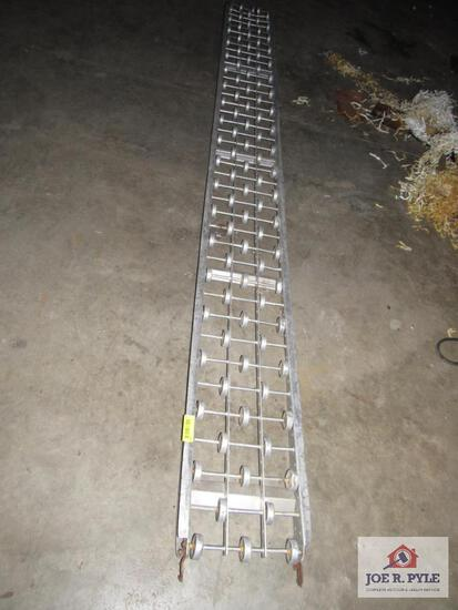 Aluminum Roller Approx. 10Ft Long.