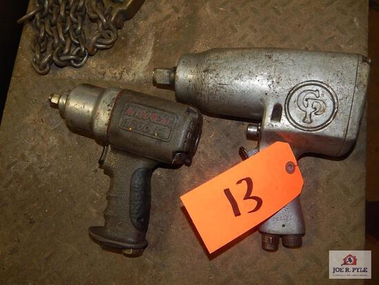 2 Air impact guns