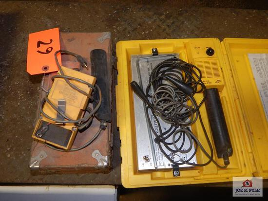 Cable hound detector & other detectors