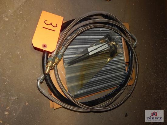 Intercooler & chain lubricant