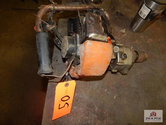 Hi-Line gasoline operated drill parts