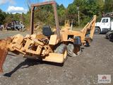 Case DH4 cable plow excavator 4x4 with 807 hours VIN: X1248992X