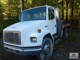 1995 Freightliner F170 w/ 3126 cad engine w/ hydraulic cable roller bed VIN is 1FV6HJBA9SL731188