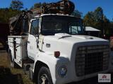 1980 Ford 7000 differ truck VIN: R7OUVJA8283