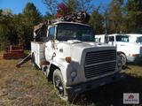 1983 Ford 7000 digger truck VIN: 1FDPR7OU7DVA23201