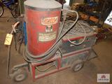 Hotsy steam pressure washer