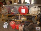 Oil drum stand
