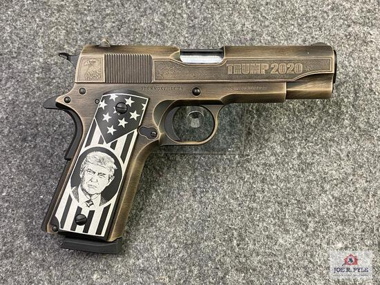 """TISAS Zig M45 """"Stop The Steal"""" Edition .45 ACP 