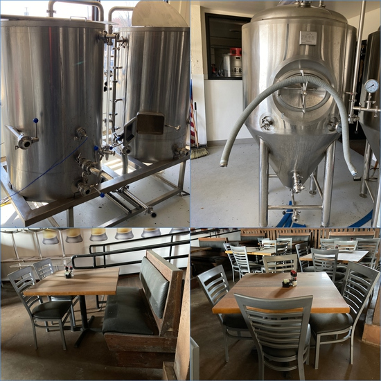 Online Only Micro Brewery/Restaurant Auction