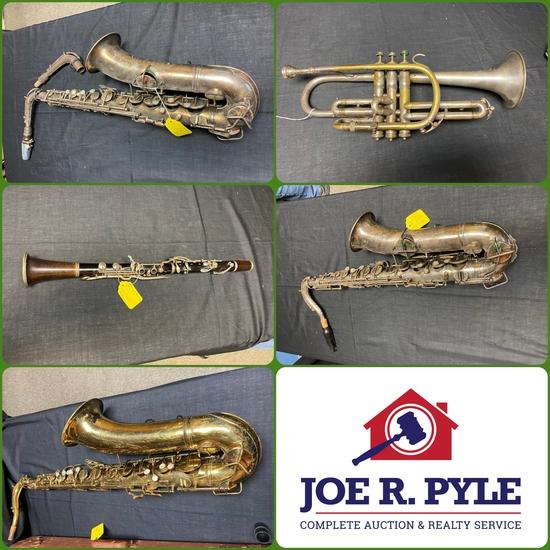 Music Instruments, Repair Tools, Audio Equip