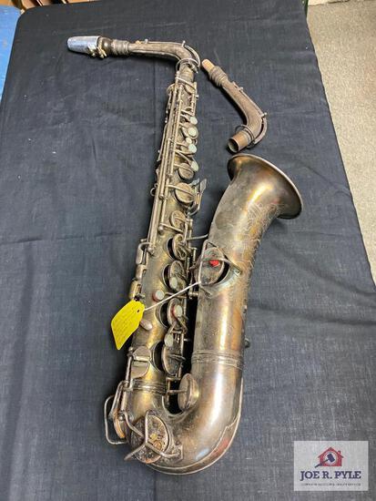 Conn C Melody Sax #110491 tanable neck, popular 1920-30's no case