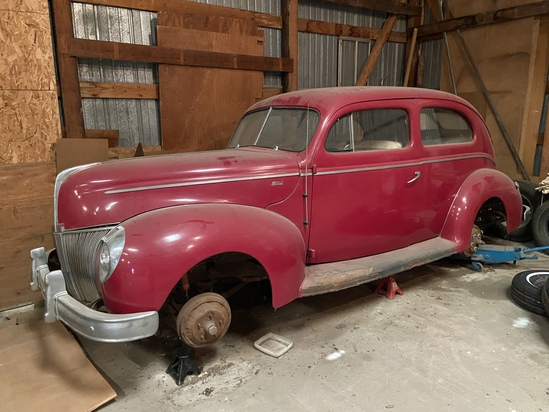 1940 Ford Model 02, 2 dr Coupe