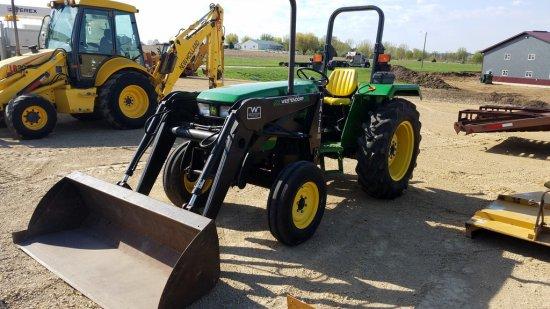 John Deere 5103 Tractor W/ Westendorf Loader | Farm