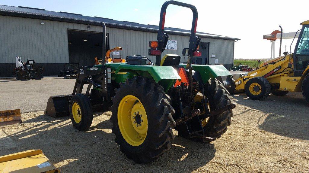 Lot: John Deere 5103 Tractor W/ Westendorf Loader | Proxibid