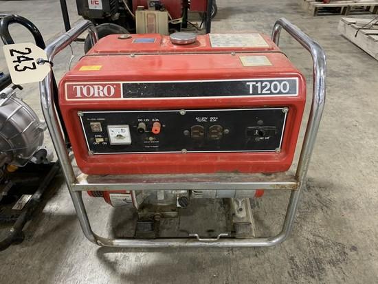 Toro T1200 Generator - Runs