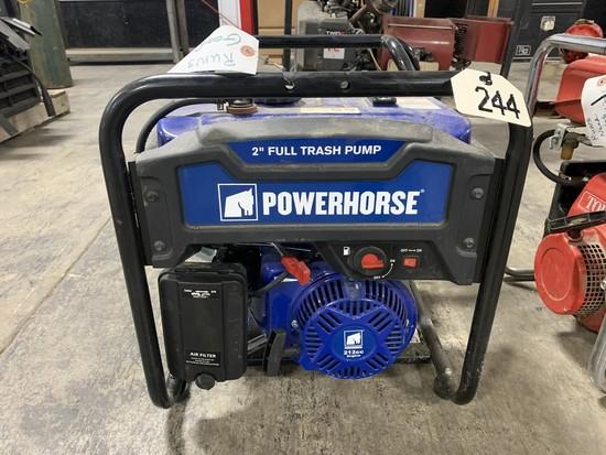 "Wheel Horse 2"" Trash Pump - Like New"