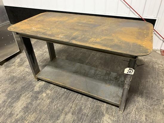 "Welding Table 57"" x 26"""