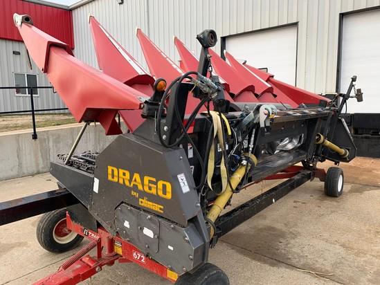 2011 Drago N6 6R Non-Chopping Corn Head