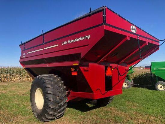 J&M 1000Grain-Storm Grain Cart