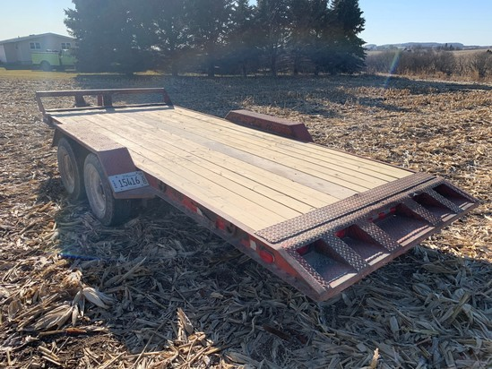 16' Tag Trailer - Tandem Axle - Has Title