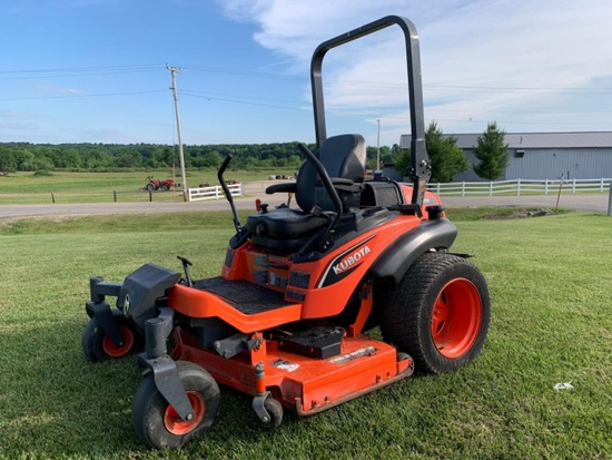 2014 Kubota ZD1211 Zero Turn Mower