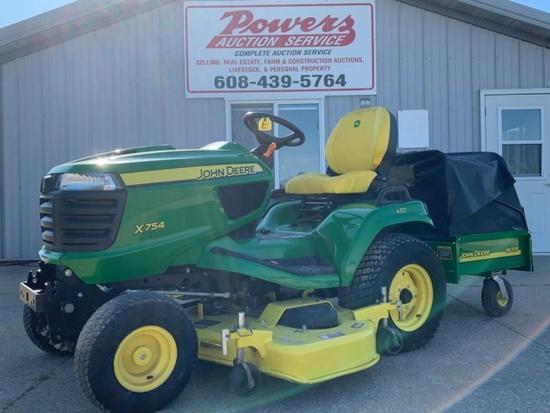 John Deere X754 Lawn Mower