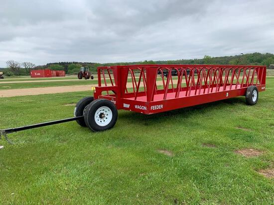 Industrias America 82R Feed Wagon