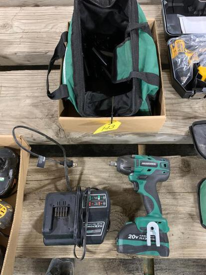 Master Force 20 Volt 1/2 inch Cordless Impact