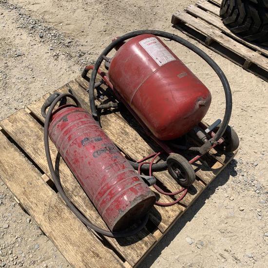 Sand Blast Pot & Concrete Sprayer