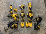 Dewalt 6 Piece Cordless Tool Set - Like New