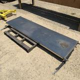 New - Stainless Steel End Gate