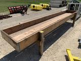 14 ft Feed Bunk