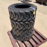 NEW - Power King 10-16.5 Skid Loader Tires