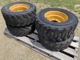 Rim Guard (4) Skid Steer Tires