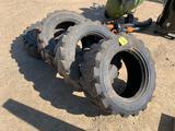 (4) 10.16.5 Skid Loader Tires