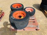 (6) Kubota Front Tires
